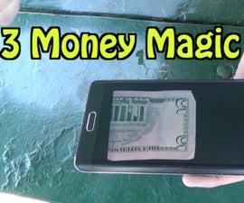 3 Money Magic Tricks- HOW TO
