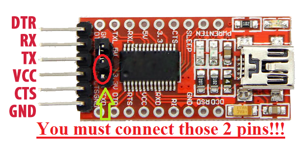 Picture of Connect Your FTDI With Your ESP8266