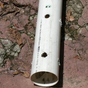 The PVC Pipe Center Post