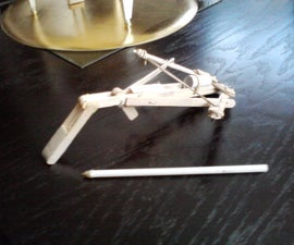 My Mini Crossbow |First Crossbow|First Instructable|