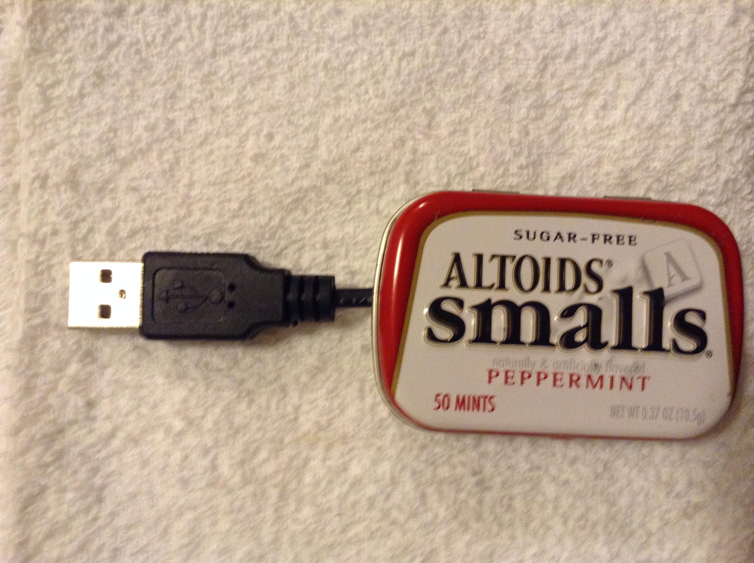 Picture of Altoids Small Glovebox Flashlight