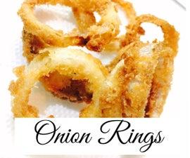 Quick Onion Rings Recipe