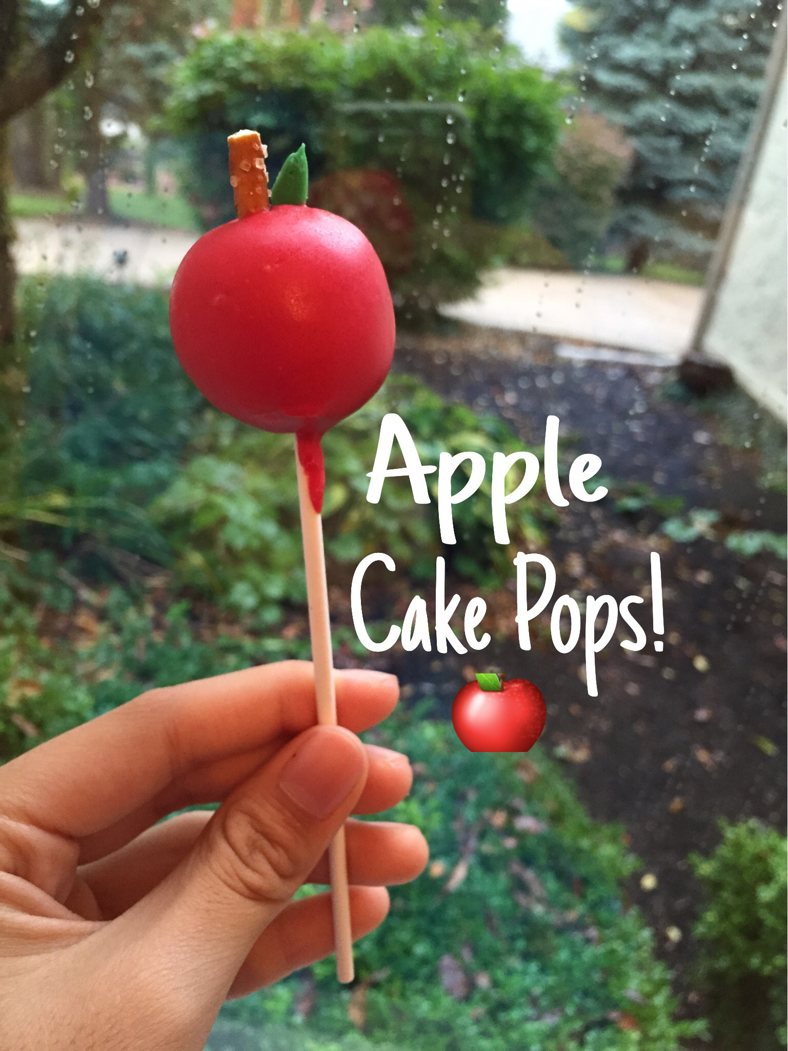Picture of Apple Cake Pops
