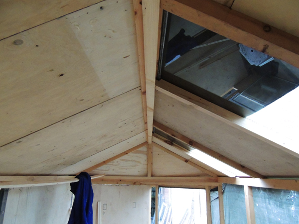 Picture of Building the Roof