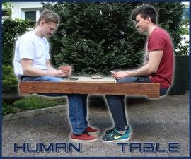 Make a Human Table