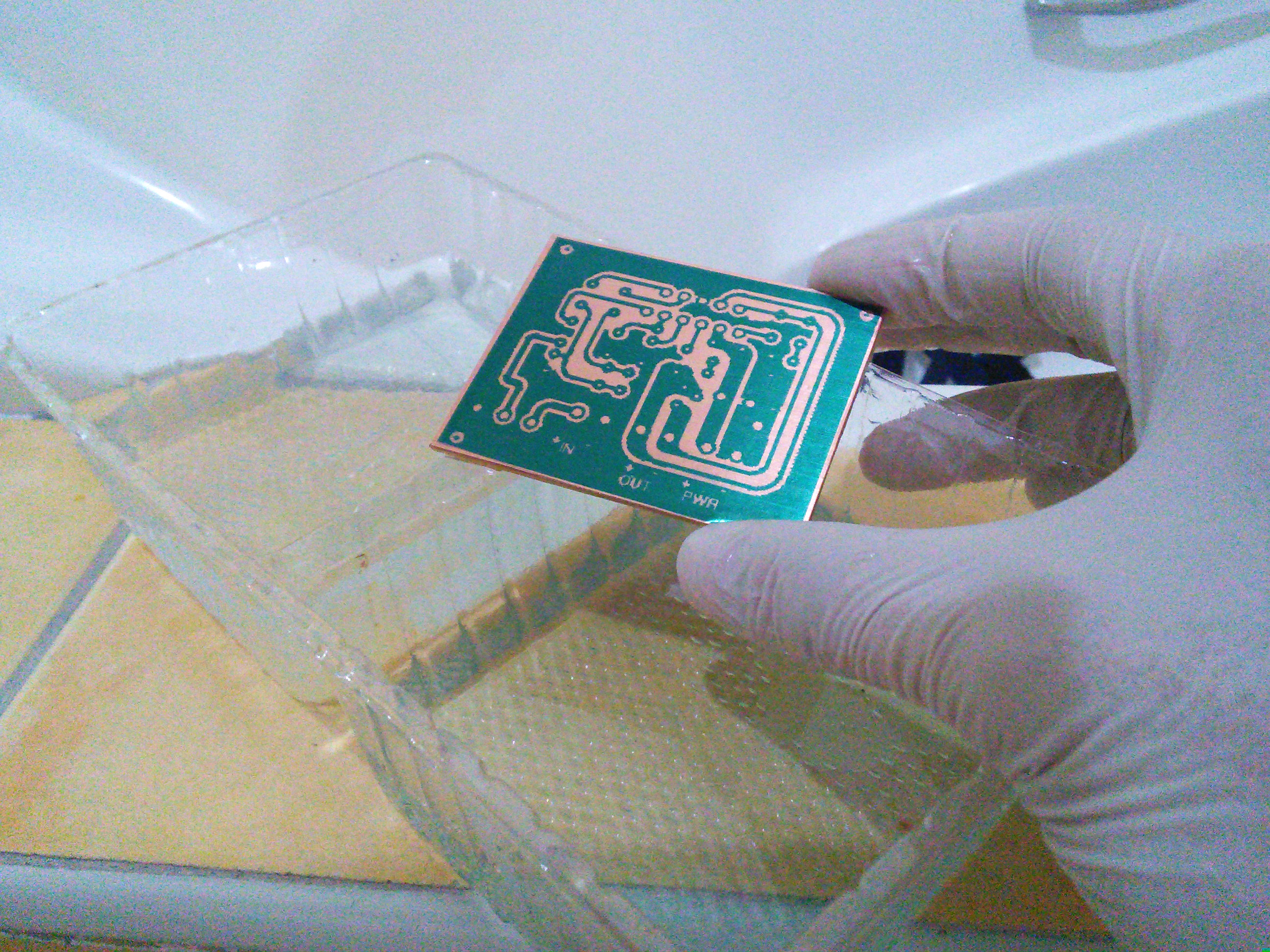 Picture of Mono Amp PCB Fabrication