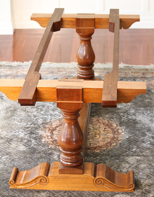 Picture of How to Make a French Inspired Trestle Table