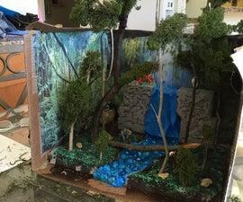 Rain Forest Diorama
