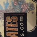 Make patches out of your old shirts