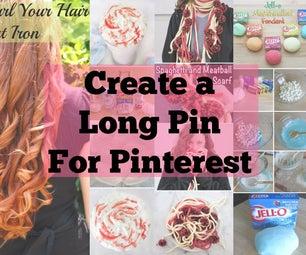 Easily Create Long Pins for Pinterest