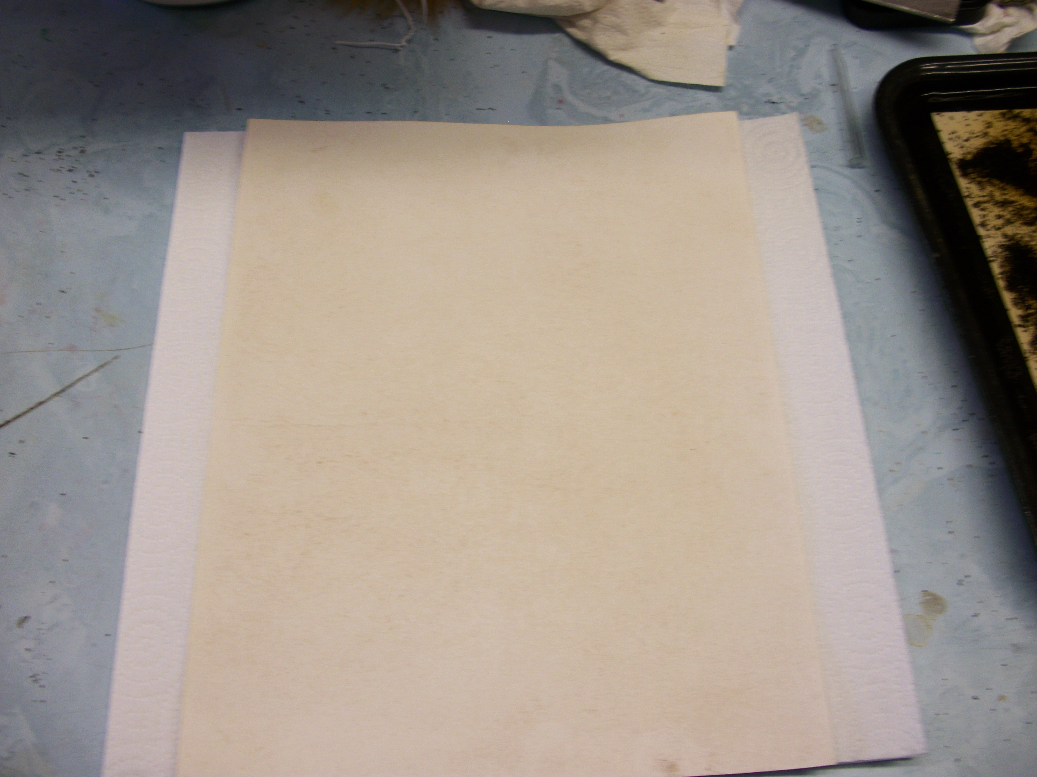 Picture of Adding End Paper