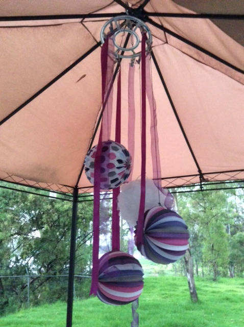 Picture of Hanging Party Decorations