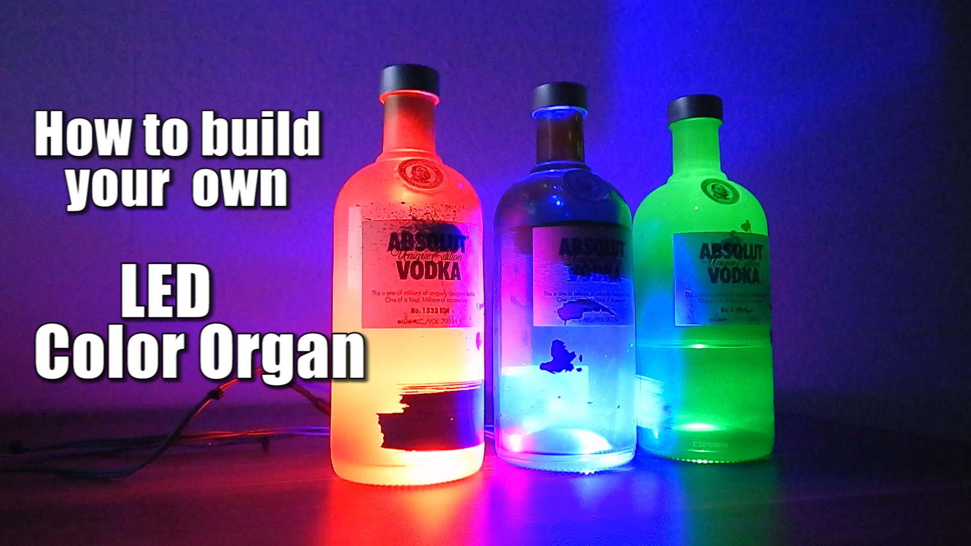 Picture of How to Build Your Own LED Color Organ || Arduino || MSGEQ7