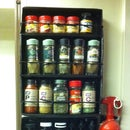 Spice Rack from Cardboard