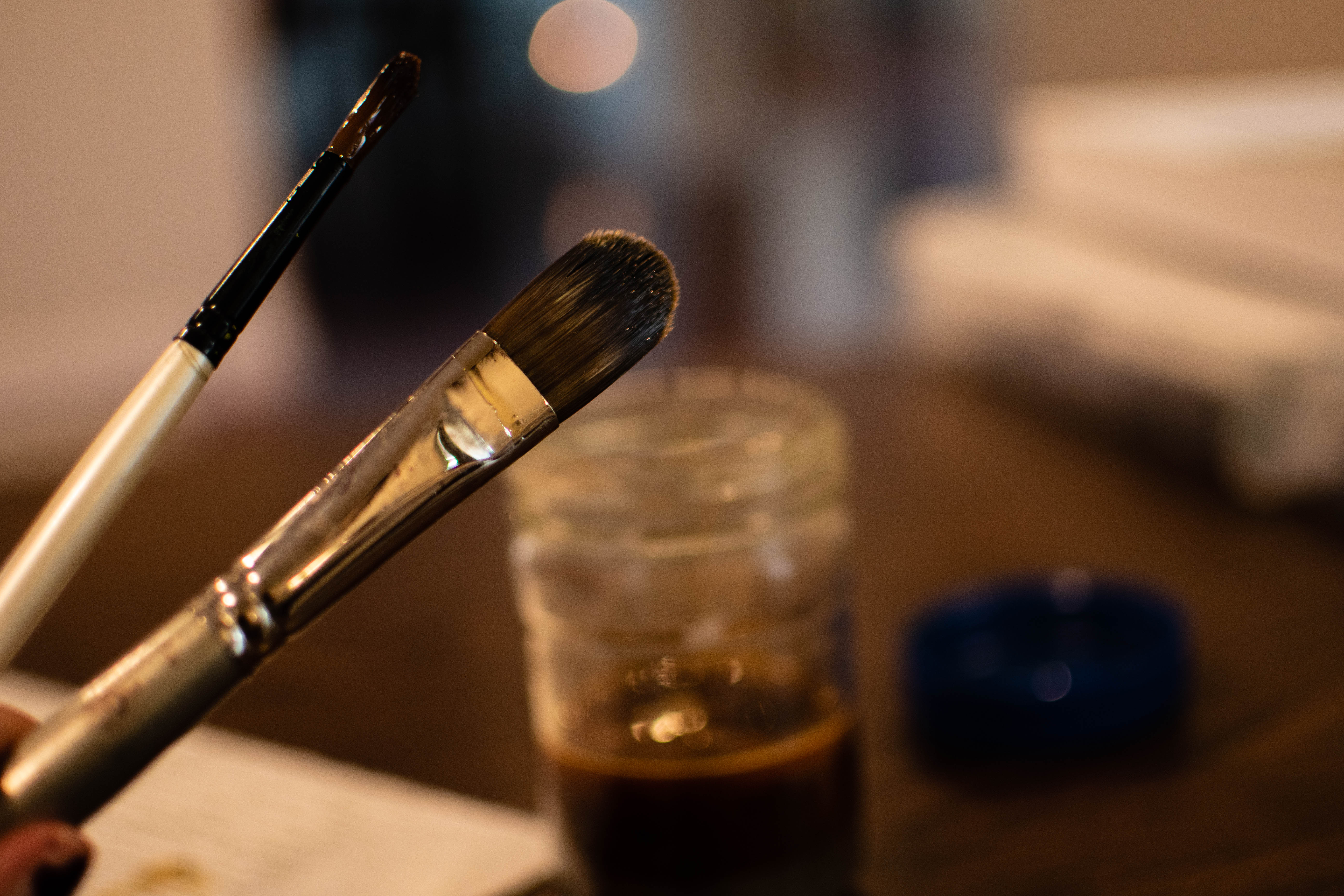 Picture of Removing Oils and Paints From Brushes