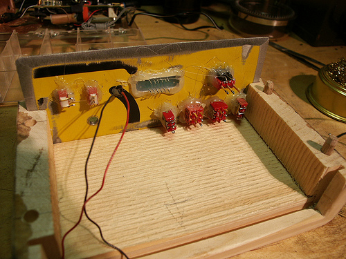 Picture of Wiring: Connecting Up the Faceplate