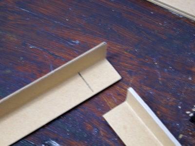 Glue the Cardboard Corners Into a Frame