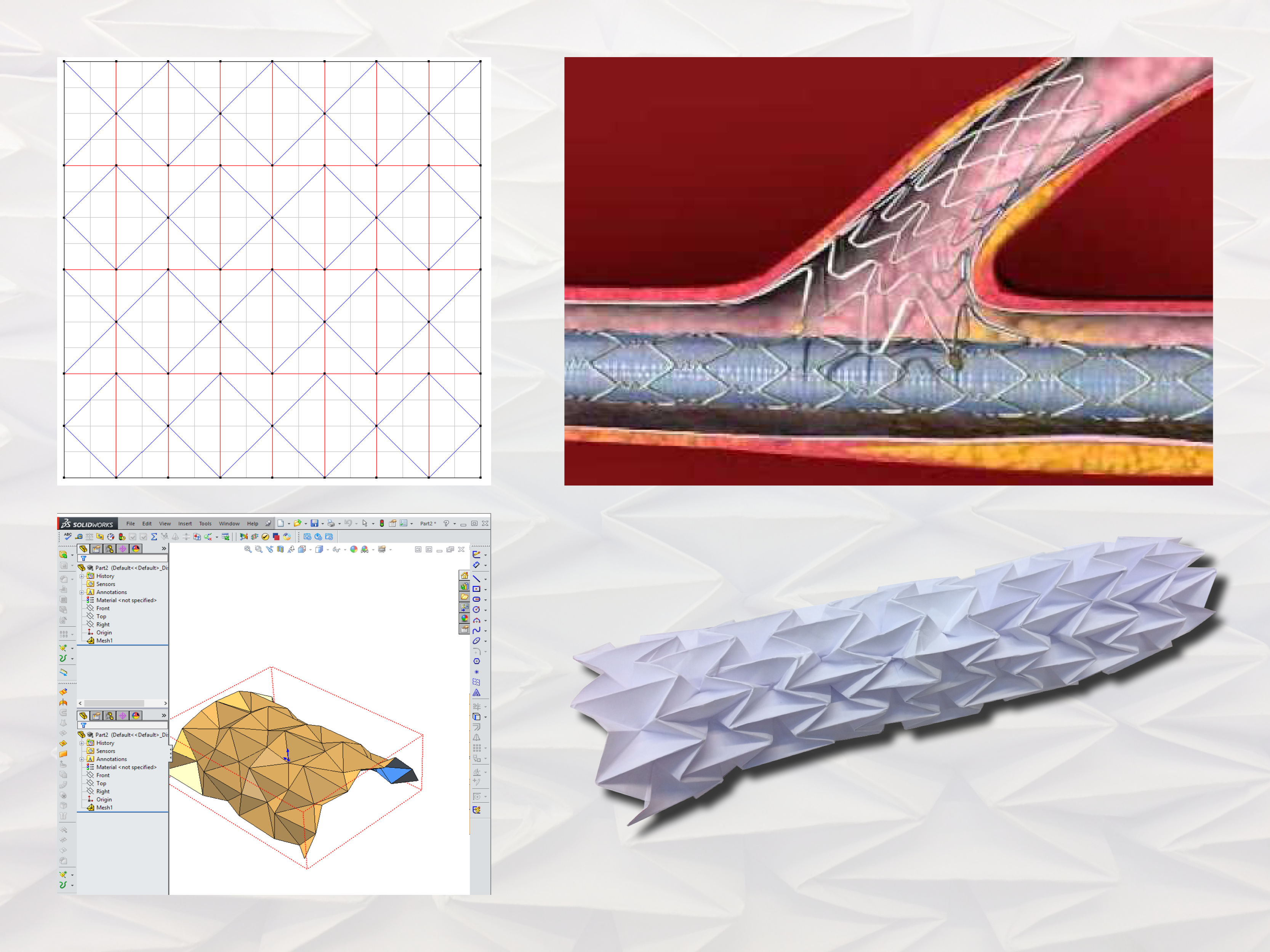 Picture of Technical Origami With ORIPA, FreeForm Origami and SolidWorks - TfCD TU Delft