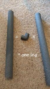 Attach the Legs: