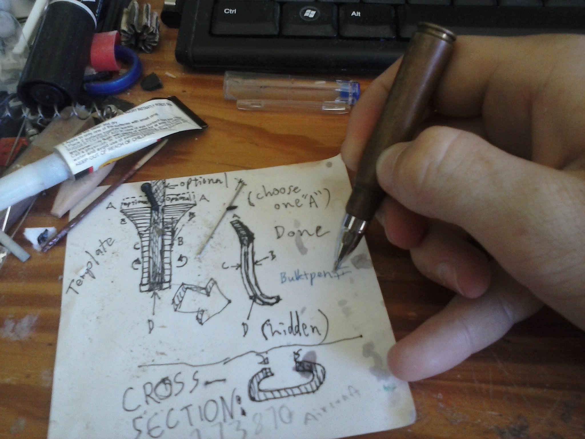Picture of Bullet Shell Gel Pen