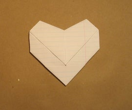 Heart Note Fold