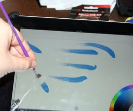 DIY iPad brush