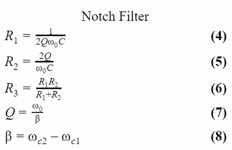 Design and Construct the Notch Filter