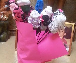 Valentines Panties Flower Bouquet