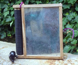Washboard Style Percussion Instrument