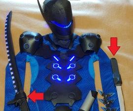 Genji's (carbon Fiber Skin) Swords EN/FR Sabres De Genji (skin Fibre De Carbon)