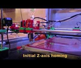 Autoleveling 3D Printer Gantry