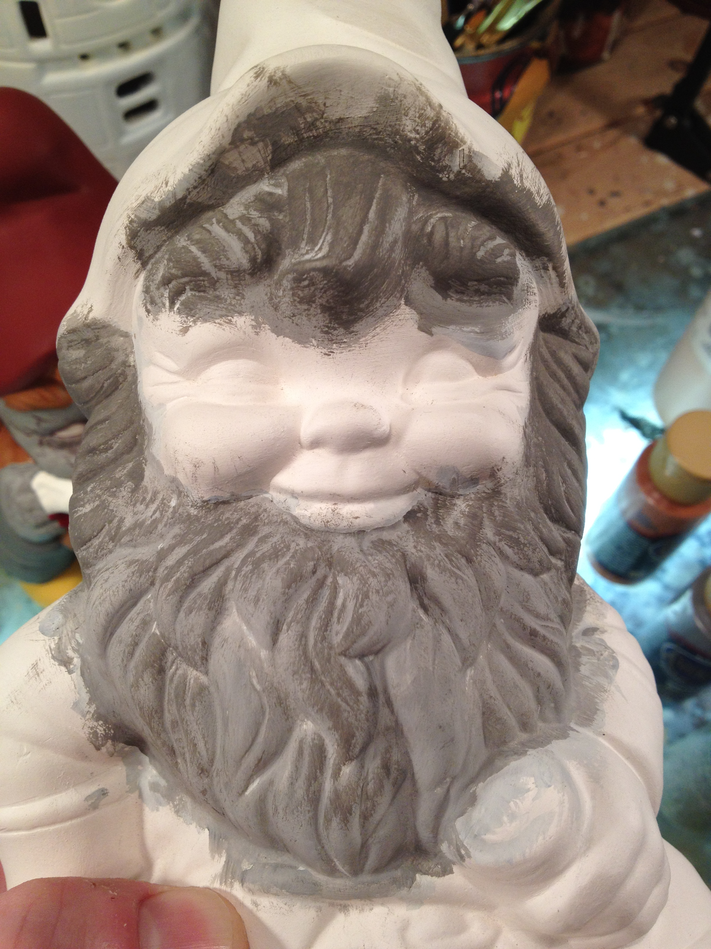 Picture of Painting- Step 1 (beard)