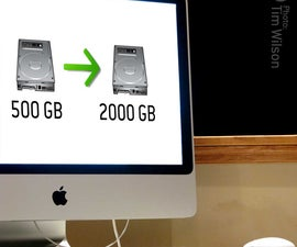 Changing an iMac's HDD