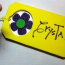 Large Luggage Tag--Easy Kid's Craft