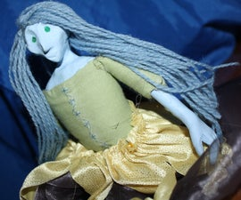 Clay and Cloth Doll