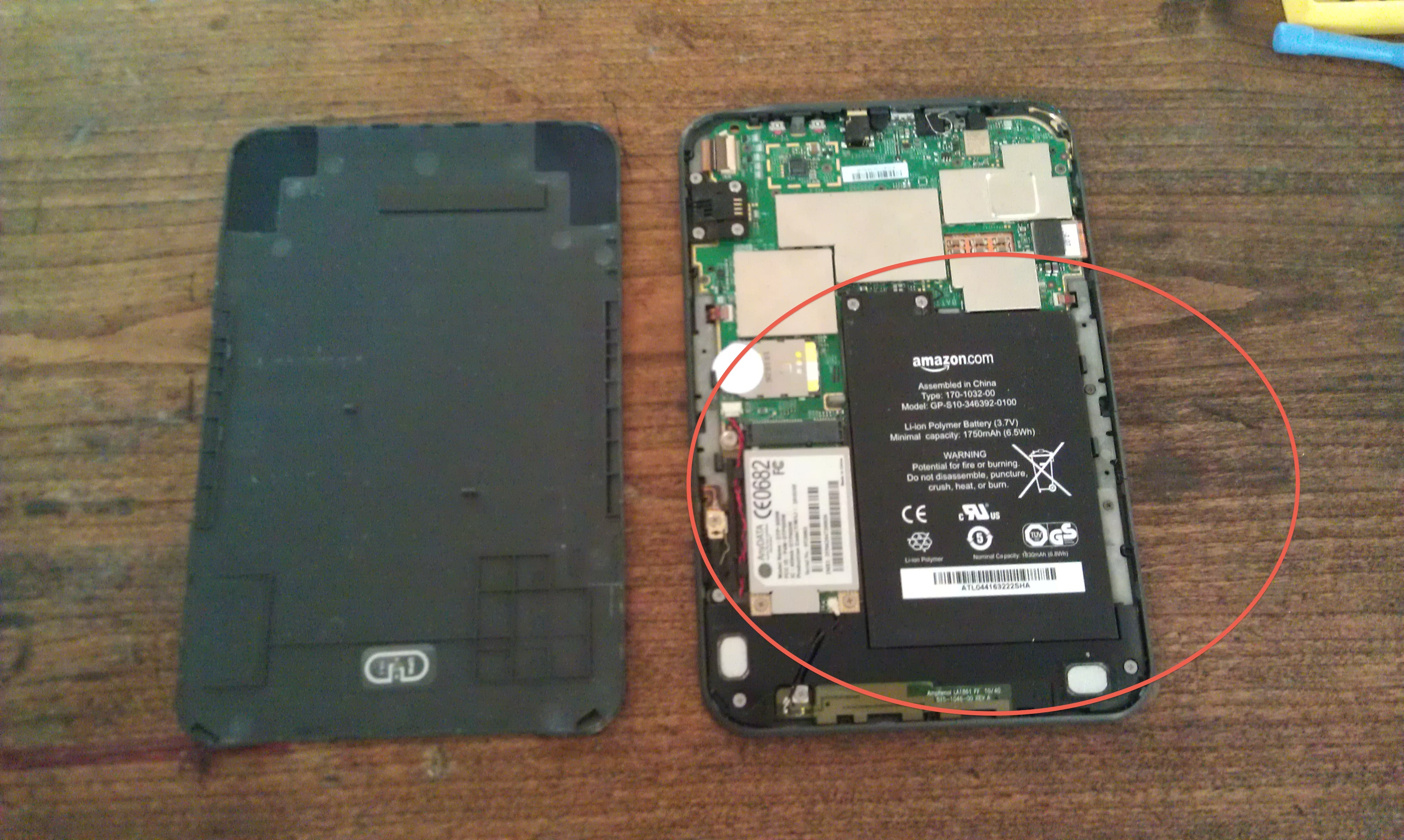 Picture of Remove Battery