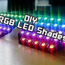 DIY | RGB LED Shades Controlled By Arduino