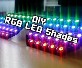 DIY   RGB LED Shades Controlled by Arduino