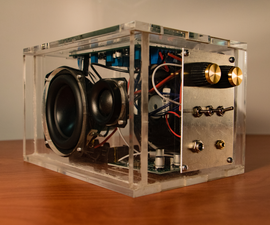 TPA3118 Amplifier and Speaker