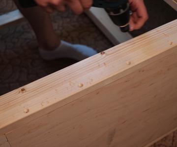 Finishing Bottom of the Workbench