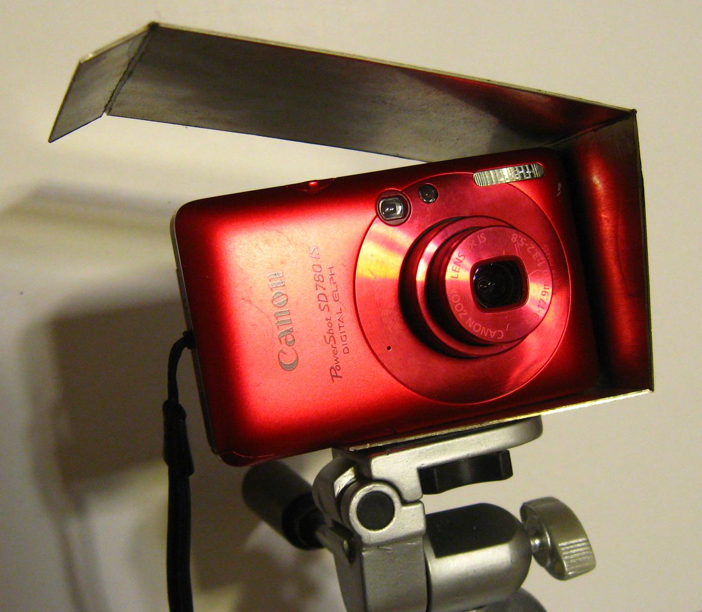 Picture of Small Rain Shield for Digital Camera