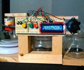 Arduino Run Accurate Liquid/Powder Dispenser System
