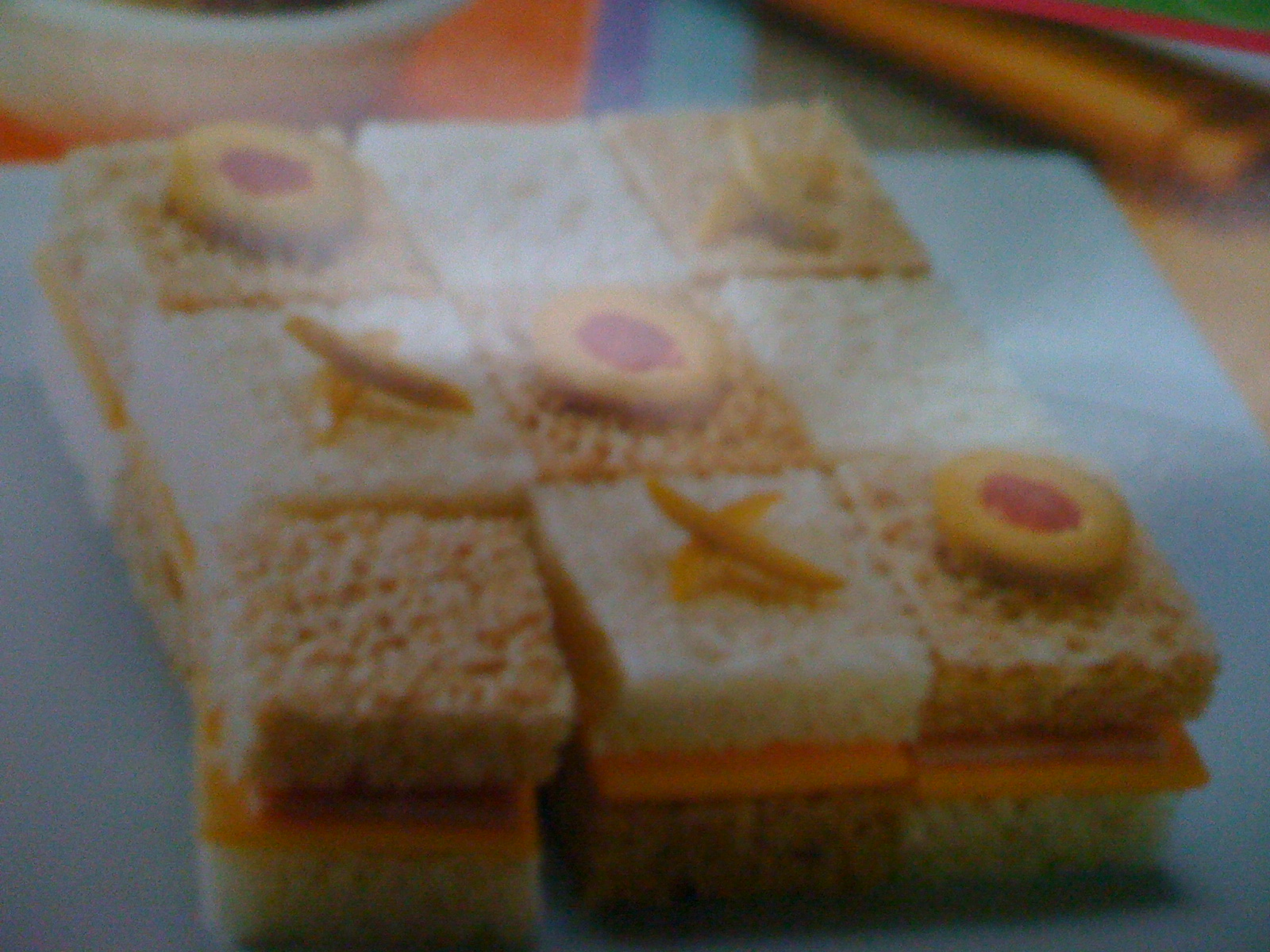 Picture of Tic-tac-toe Sandwich