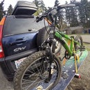 Hitch Mount Snowboard Bike Rack