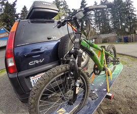 Hitch Mount Snowboard Bike Rack