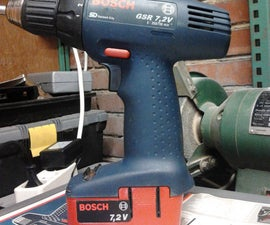 painting your cordless drill battery