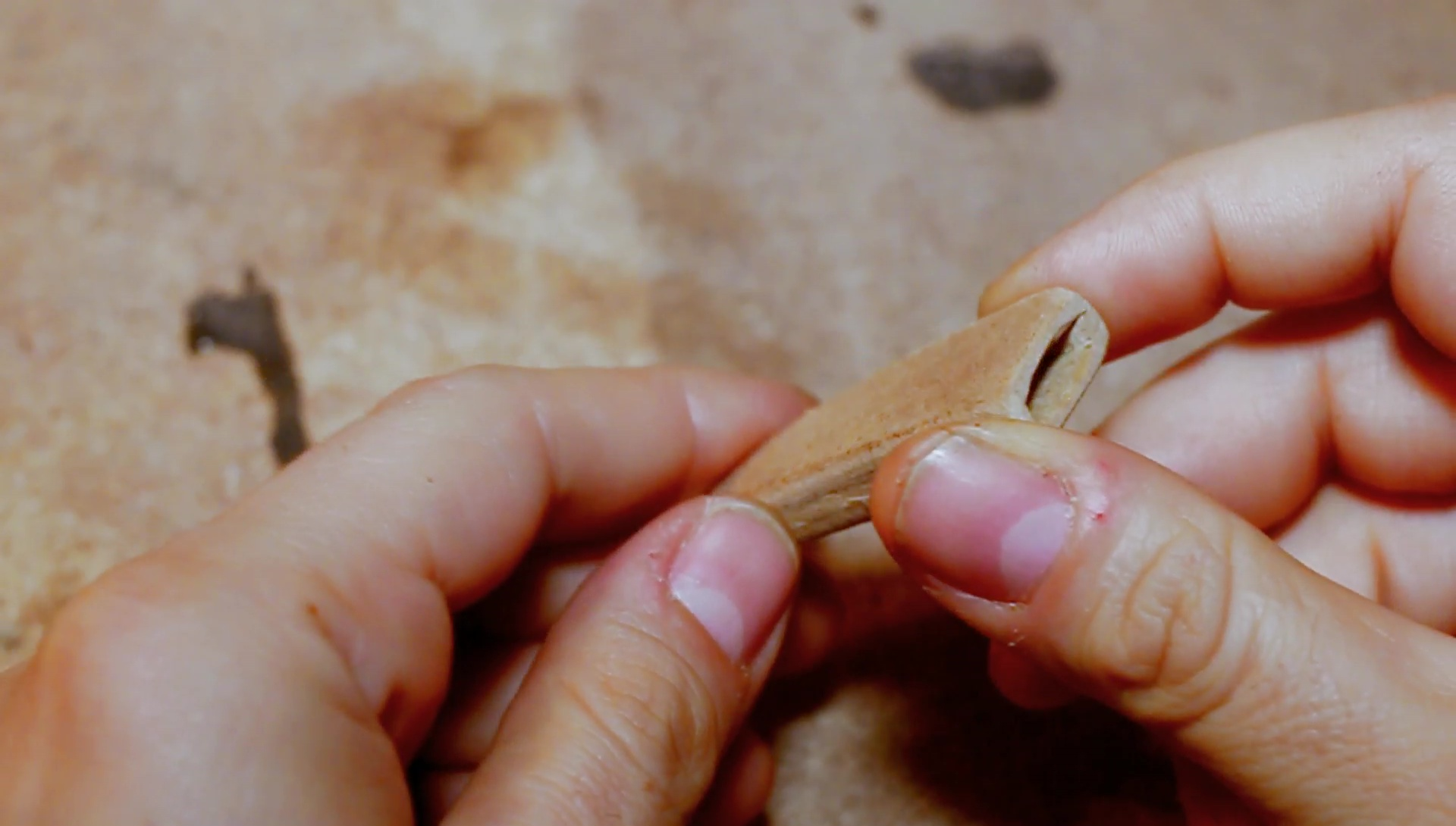 Picture of Blade Wooden Cap