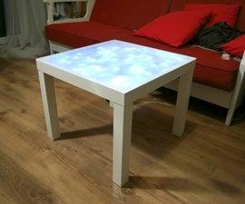 Ikea lack plus (light)