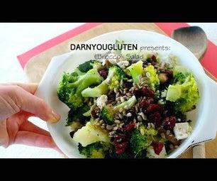 """Broccoli """"Salad"""" (GF)"""