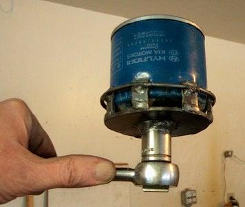 Custom Wrench for an Odd Oil Filter